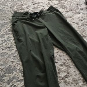 *Athleta* Hunter Green Joggers